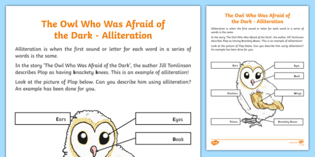 Alliteration worksheets ks2