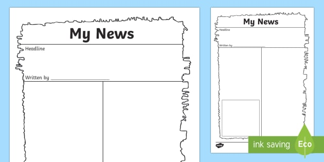 Egyptian Papyrus Newspaper Writing Template - newspaper, old newspaper, newspaper template, old newspaper writing template, newspaper writing frame, my news frame