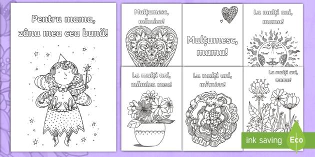 Ziua Mamei Felicitare Mindfulness Ziua Mamei Română