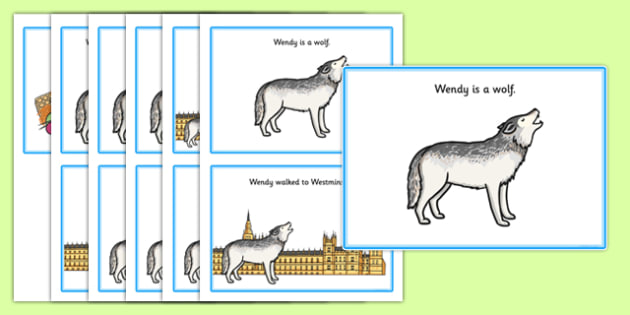 Initial w Story - speech sounds, phonology, phonological delay, phonological disorder, articulation, speech therapy, dyspraxia