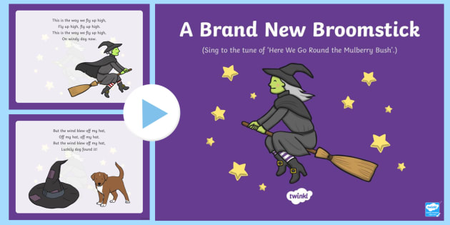 A Brand New Broomstick Song PowerPoint