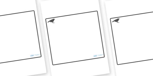 Blackbird Themed Editable Classroom Area Display Sign - Themed Classroom Area Signs, KS1, Banner, Foundation Stage Area Signs, Classroom labels, Area labels, Area Signs, Classroom Areas, Poster, Display, Areas