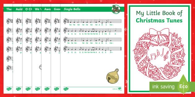 Tin Whistle Christmas Tunes Booklet