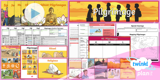 RE: Pilgrimages Year 4 Unit Pack
