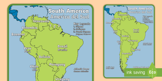 Geography continents of the world south america display poster geography continents of the world south america display poster englishitalian ks1 geography gumiabroncs Gallery