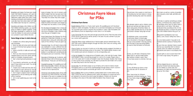 Christmas Fayre PTA Ideas - christmas fayre, pta, ideas, christmas, fayre