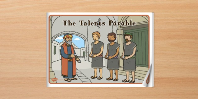 The Talents Parable eBook - parables, ebook, the talents, christianity