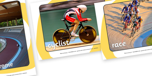 The Olympics Cycling Display Photos - Cycling, Olympics, Olympic Games, sports, Olympic, London, 2012, display, photo, photos, poster, sign, banner, activity, Olympic torch, events, flag, countries, medal, Olympic Rings, mascots, flame, compete