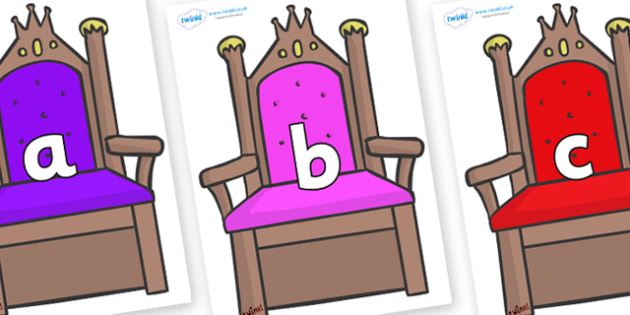 Phase 2 Phonemes on Thrones - Phonemes, phoneme, Phase 2, Phase two, Foundation, Literacy, Letters and Sounds, DfES, display