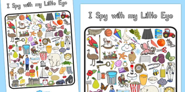 I Spy With My Little Eye Activity 4 - australia, I spy, activity