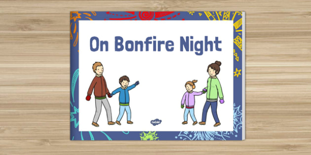 On Bonfire Night Story eBook - bonfire night, story, ebook, e-book, e book
