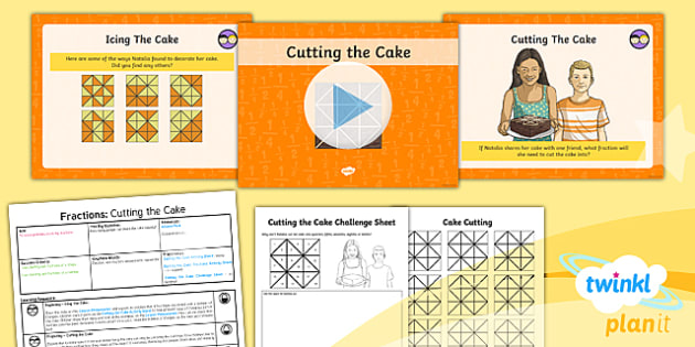 PlanIt Maths Y3 Fractions SolveIt Lesson Pack