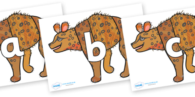 Phoneme Set on Hyena to Support Teaching on The Bad Tempered Ladybird - Phoneme set, phonemes, phoneme, Letters and Sounds, DfES, display, Phase 1, Phase 2, Phase 3, Phase 5, Foundation, Literacy