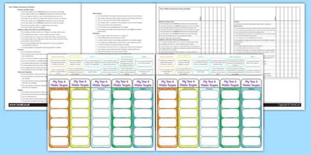 Year 6 Maths Assessment Pack - math, numeracy, assessment, assess