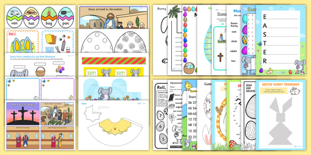 Easter Activity Pack KS1 - easter, religion, RE, key stage one