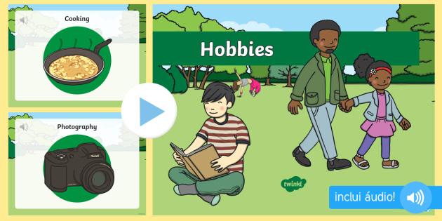 hobbies  powerpoint com  u00e1udio em ingl u00eas