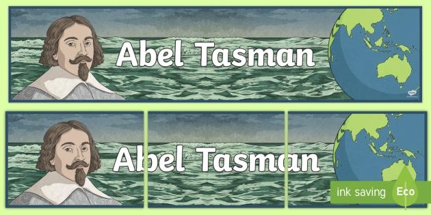 9c34911cf Abel Tasman Display Banner - Australian Curriculum, HASS, The ...