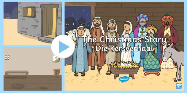 Christmas Story Background