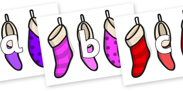 Phoneme Set on Stockings - Phoneme set, phonemes, phoneme, Letters and Sounds, DfES, display, Phase 1, Phase 2, Phase 3, Phase 5, Foundation, Literacy