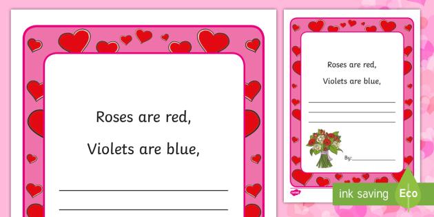 the violet poem