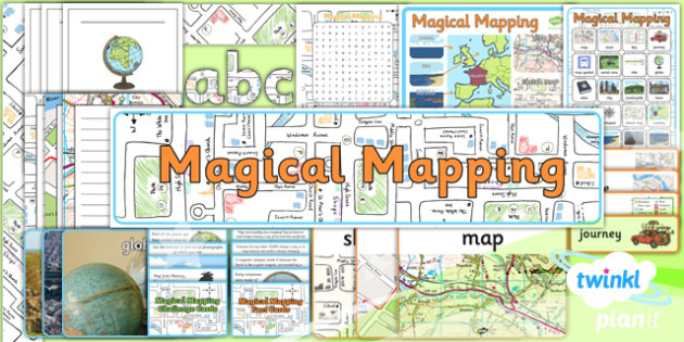Geography: Magical Mapping Year 2 Unit Additional Resources