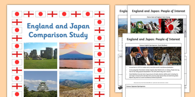 England and Japan Comparison Study Research Booklet