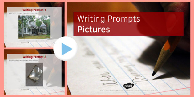 Ten Picture Stimulus Writing Prompts - ten, picture, stimulus, writing prompts
