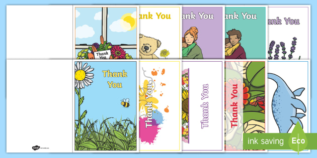 Thank You Card Writing Template   Blank Editable Card Templates, Editable, Card  Template,