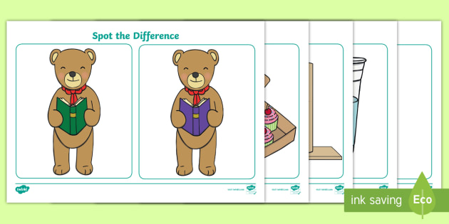 image regarding Printable Spot the Difference for Elderly titled Desired destination the Change Worksheet / Worksheet - Place the