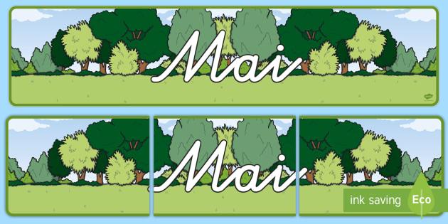 Mai Display Banner German - german, may, display banner, display, banner