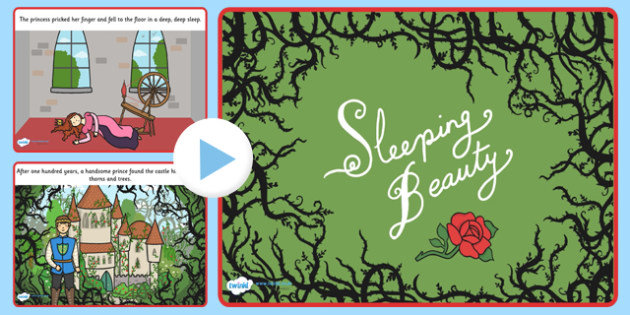 Sleeping Beauty Story PowerPoint - sleeping beauty, story, story powerpoint, powerpoint, sleeping beauty powerpoint, sleeping beauty story