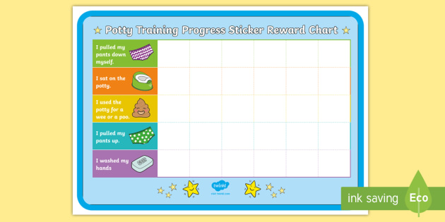 new   potty training progress sticker reward charts