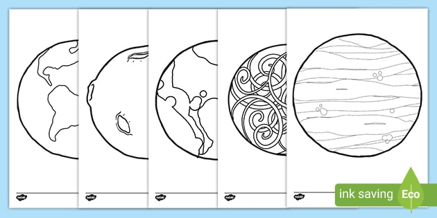 - The Planets Coloring Sheets (teacher Made)