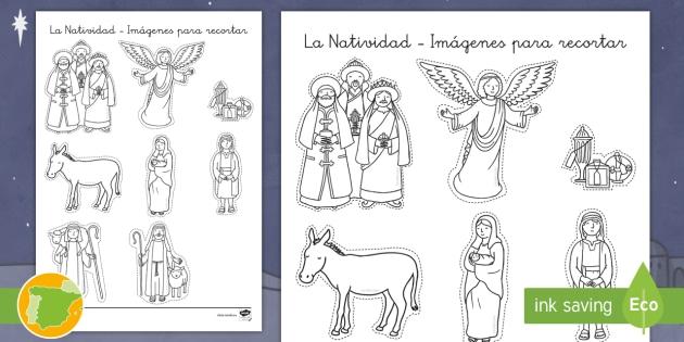 NEW * Ficha de actividad: La Natividad - Imágenes para