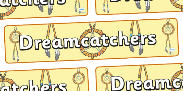 Dreamcatchers Display Banner - dreamcatchers, dream, dreaming, display, banner, sign, poster, dreamcatcher, dreams