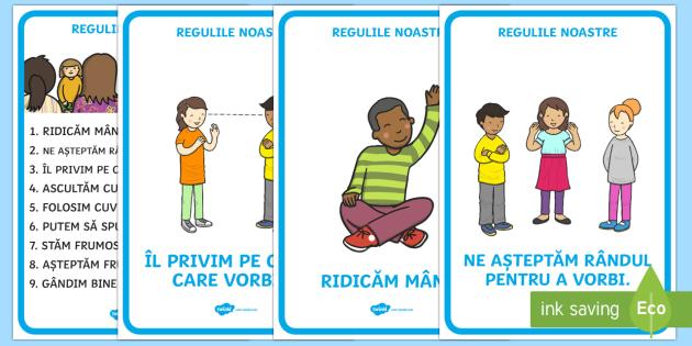 Regulile noastre - Planșe - reguli, regulile clasei, inceput de an scolar, din nou la scoala, organizarea clasei, decorarea clas