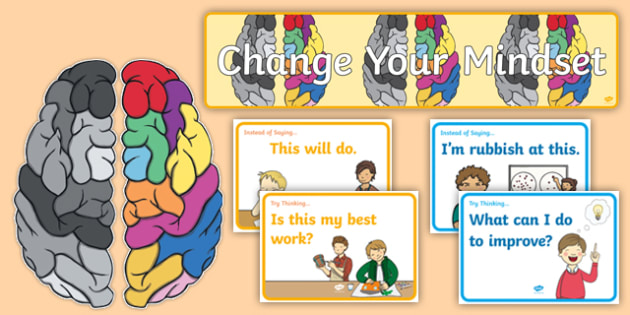 Developing Growth Mindset Display Pack (teacher made)