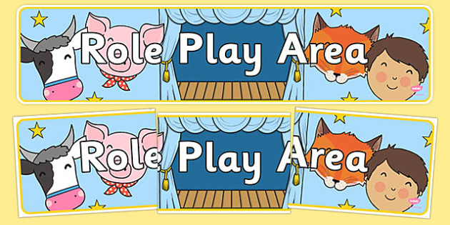 Role Play Area Sign - Classroom Area Signs, KS1, Banner, Foundation Stage Area Signs, Classroom labels, Area labels, Area Signs, Classroom Areas, Poster, Display, Areas, Role Play