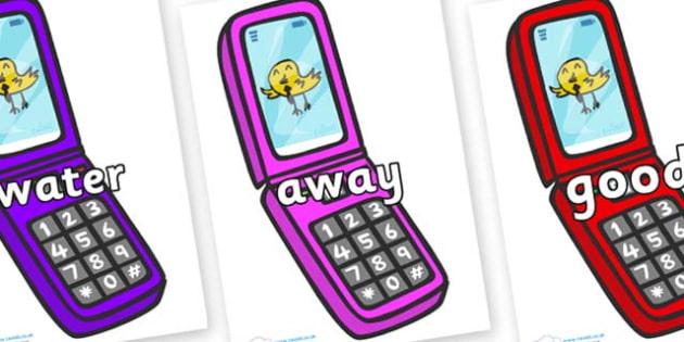 Next 200 Common Words on Mobile Phone - Next 200 Common Words on  - DfES Letters and Sounds, Letters and Sounds, Letters and sounds words, Common words, 200 common words