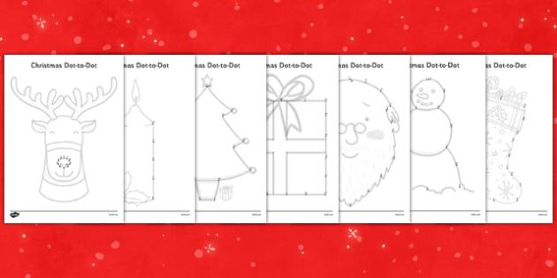 christmas dot to dots up to 20 christmas dot to dot game