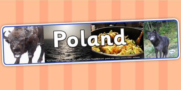 Poland Photo Display Banner - poland, photo display banner, display banner, display, banner, photo banner, header, display header, photo header, photo
