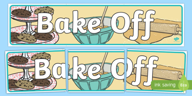 Bake Off Display Banner