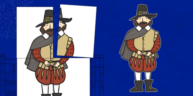 Large Guy Fawkes Display Cut Out A2 - large, guy fawkes, display, cut outs, a2
