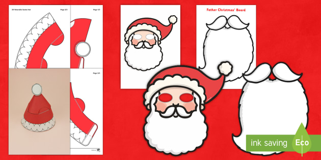 Santa  Role Play Pack - Australia, santa, father christmas, santa claus, dress up, role play, costume, fancy dress, outfit,