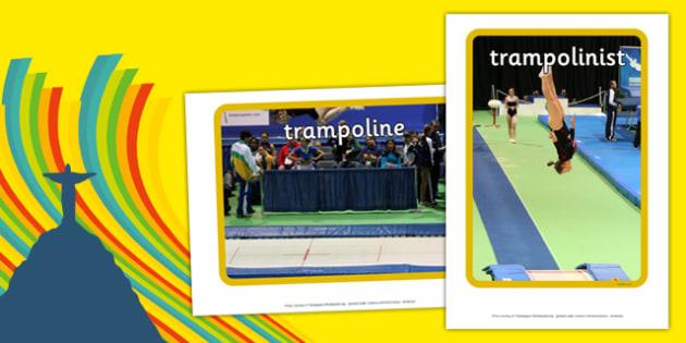 The Olympics Trampoline Display Photos - the olympics, rio olympics, 2016 olympics, rio 2016, trampoline, display photos