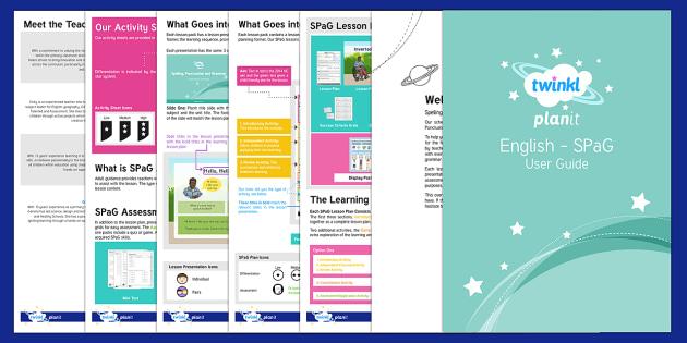 PlanIt SPaG User Guide - planit, spag, user guide, user, guide, english