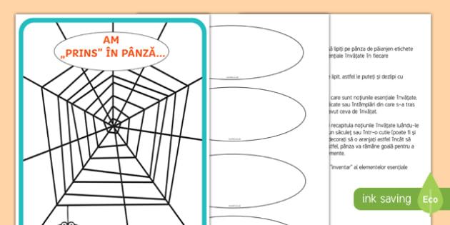 Ce am învățat astăzi Planșă format mare-Romanian