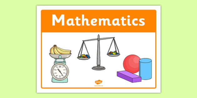 Mathematics Classroom Area Sign - roi, republic of ireland, irish, classroom area, sign, mathematics