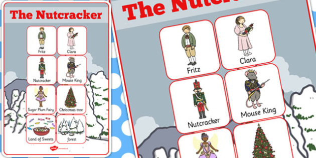 The Nutcracker Vocabulary Poster - nutcracker, vocabulary, poster