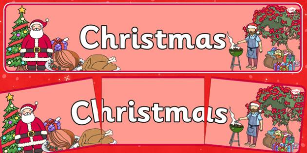 Christmas Display Banner NZ - nz, new zealand, christmas, display banner, display, banner